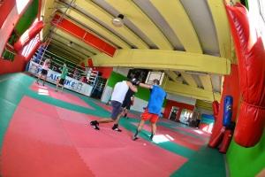 Palestra Palaistikè a Cagliari allenamento boxe