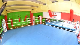 Palestra Palaistikè a Cagliari ring boxe