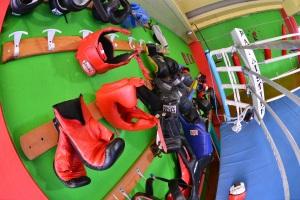 Palestra Palaistikè a Cagliari attrezzature pugilato e kickboxing