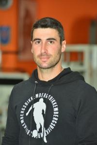 L'istruttore di Body Building Federico Busonera