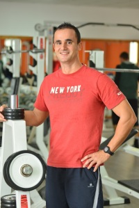 L'istruttore di Body Building Alessandro Corongiu